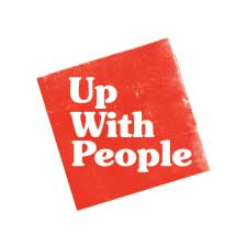 Up With People - Fuzzbox Website Design and Graphic Design Client