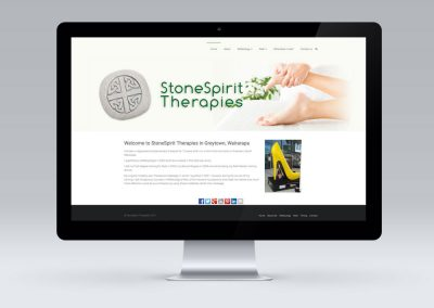 Website Design for StoneSpirit Therapies in Greytown