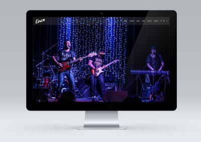 Website for Masterton Band Circa