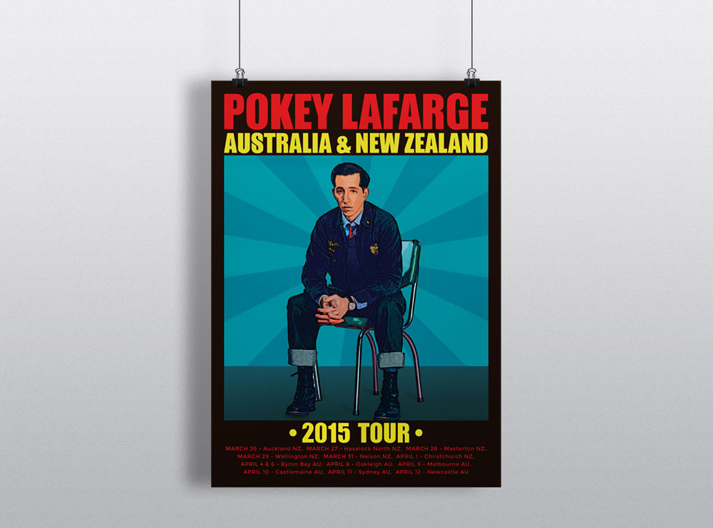 Pokey La Farge New Zealand Tour 2015