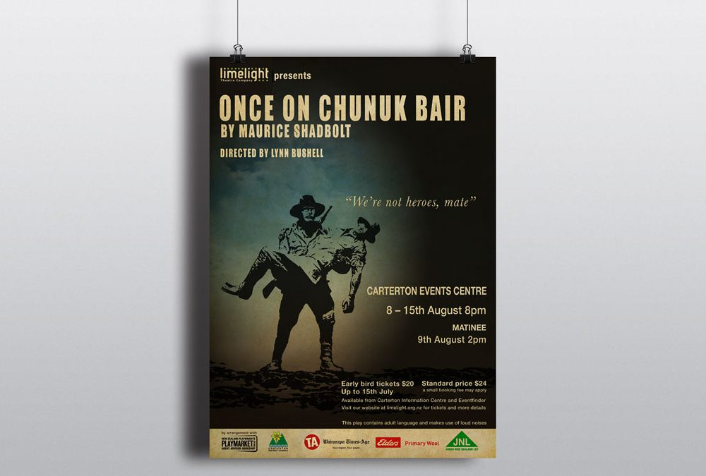 Poster Design – Once on Chunuk Bair