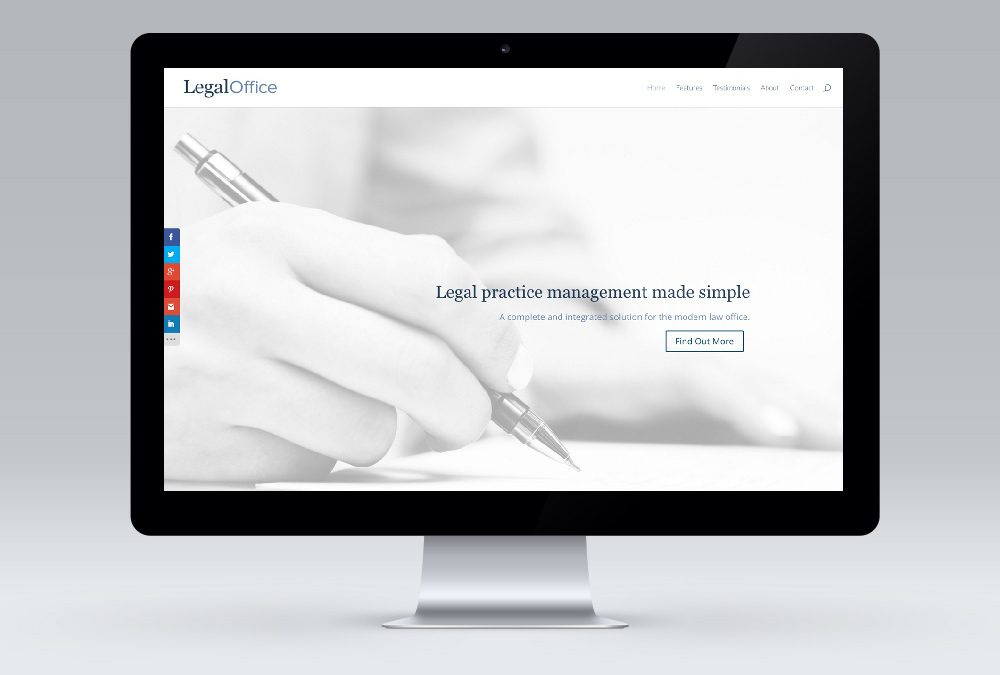 Responsive Website Design – Legal Office New Zealand