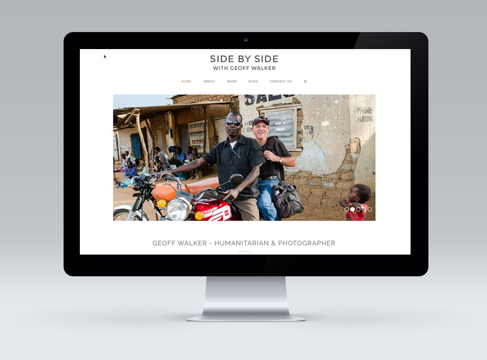 Responsive Website Design, Wairarapa - Side by Side with Geoff Walker.