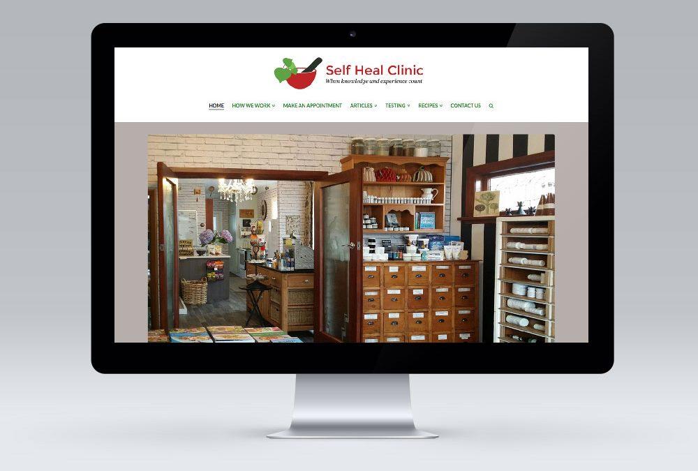 Multisite Website Design – The Self Heal Clinic, Masterton