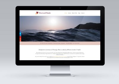 Website Design – Heart and Hands, Greytown