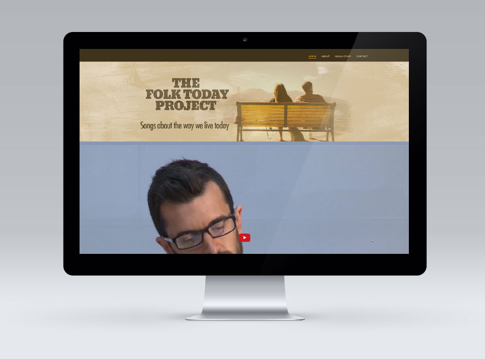 Website Design Wellington - The Folk Today Project