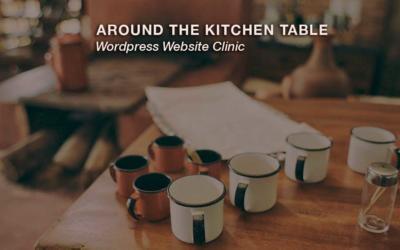 6th October – WordPress Website Clinic