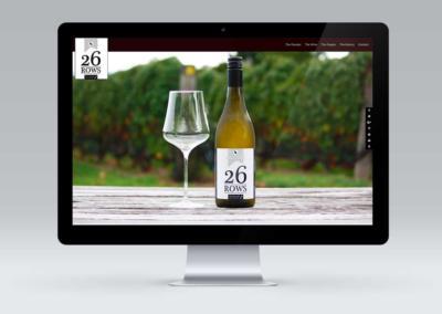 26 Rows, Martinborough, Website Design
