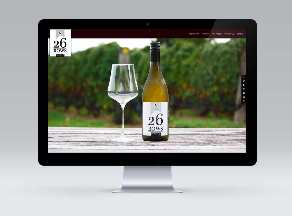 26 Rows, Martinborough website