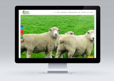 Wairere Rams, Wairarapa – Website Design