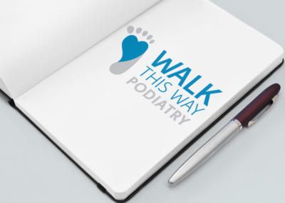 Walk this Way Podiatry, Logo Design