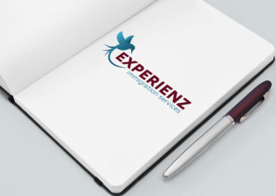 Experienz Immigration, Logo Design
