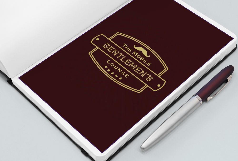 Mobile Gentlemans Lounge, Logo Design