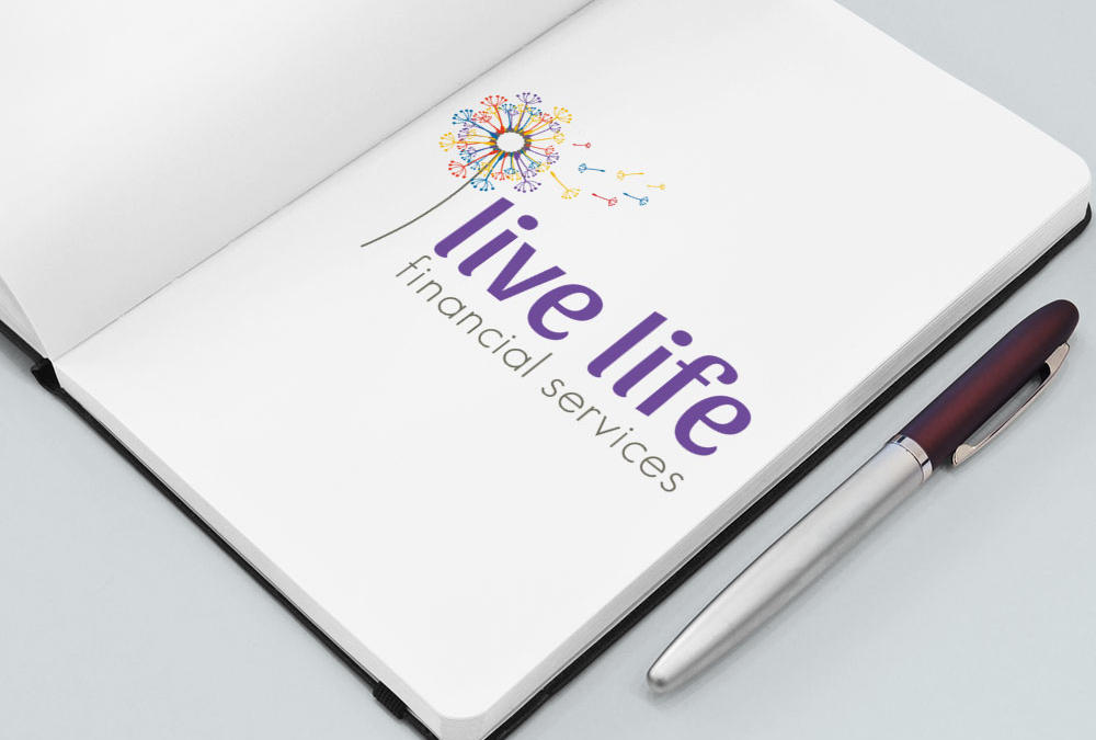 Live Life Financial, Auckland, Logo Design